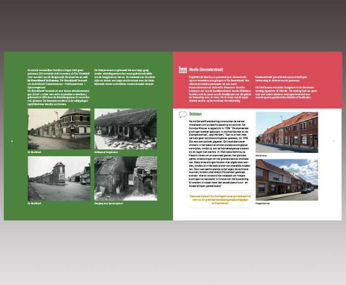 Brochure 100 jaar Sociaal Wonen in Hamme - spread 5