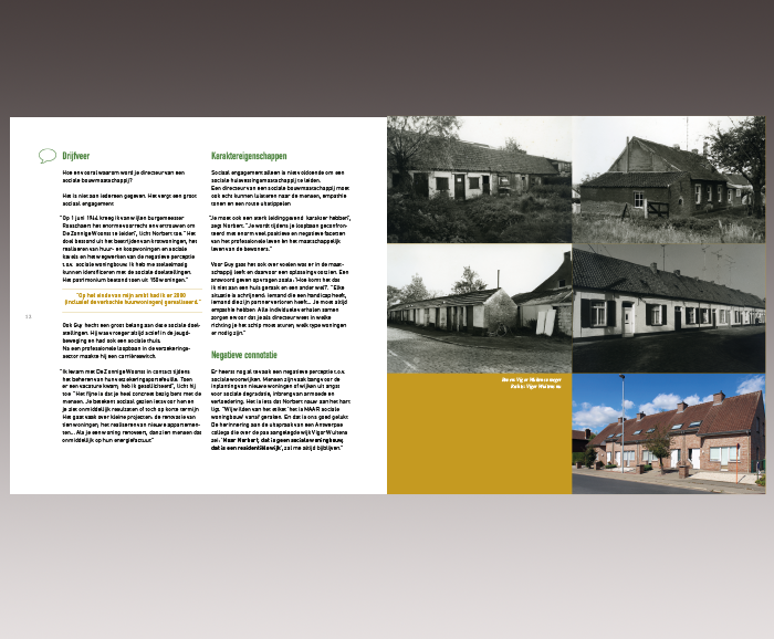 Brochure 100 jaar Sociaal Wonen in Hamme - spread 8
