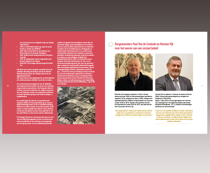 Brochure 100 jaar Sociaal Wonen in Hamme - spread 10