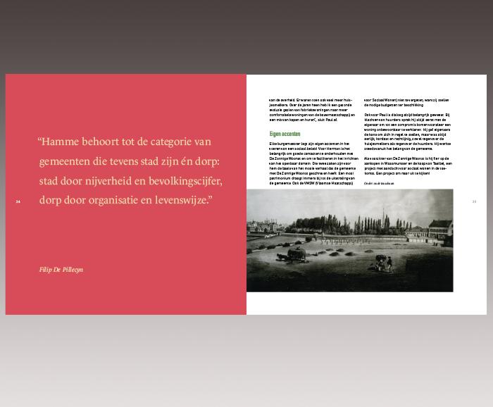Brochure 100 jaar Sociaal Wonen in Hamme - spread 14