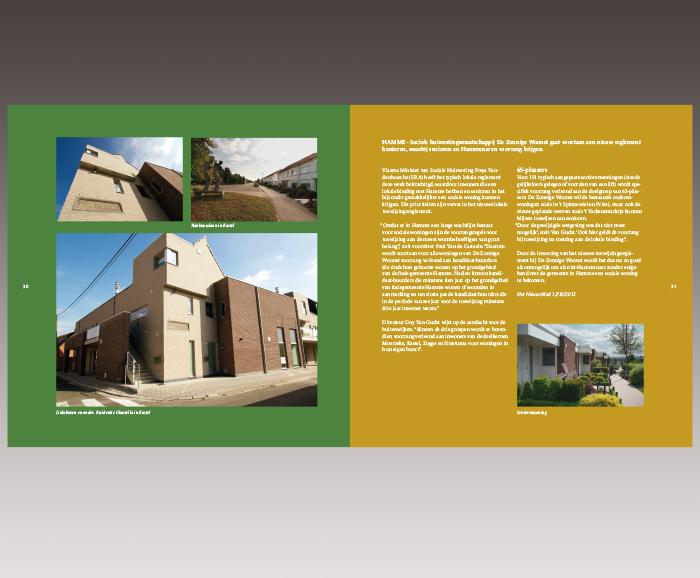 Brochure 100 jaar Sociaal Wonen in Hamme - spread 17