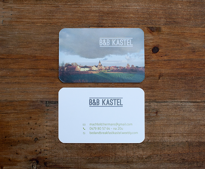 visitekaartje B&B Kastel