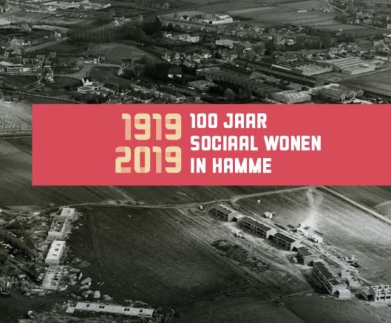 Cover brochure 100 jaar Sociaal Wonen in Hamme